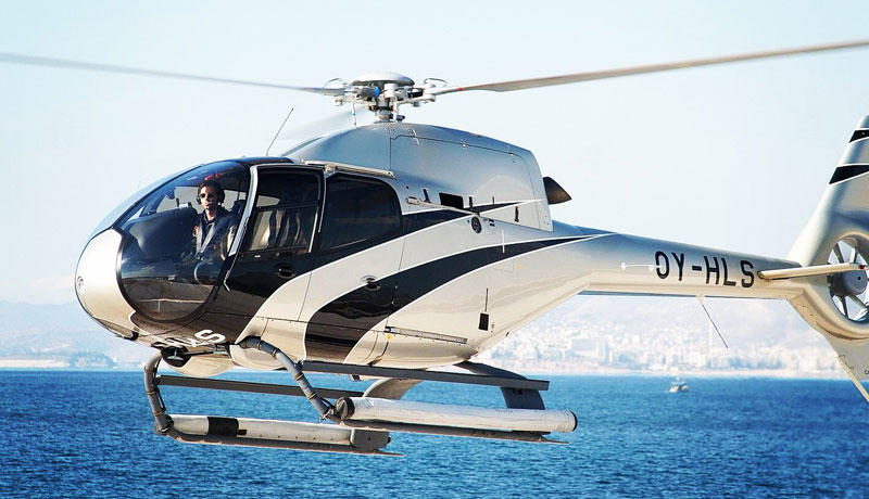 helicopter rental ec120 a2