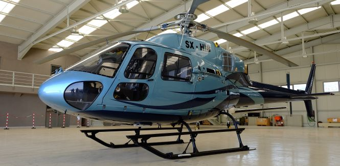 HELICOPTER RENTAL AS355