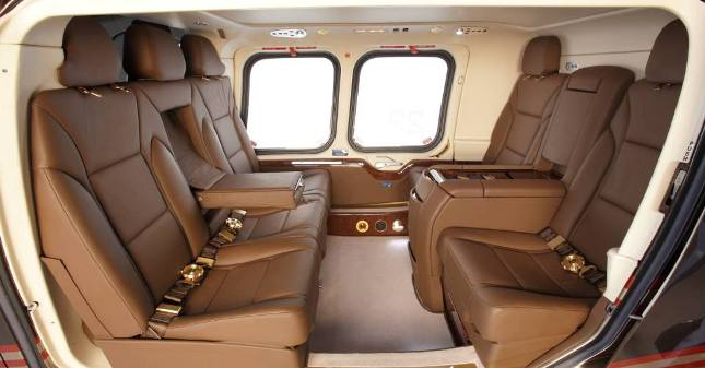 charter luxury services agusta 109G