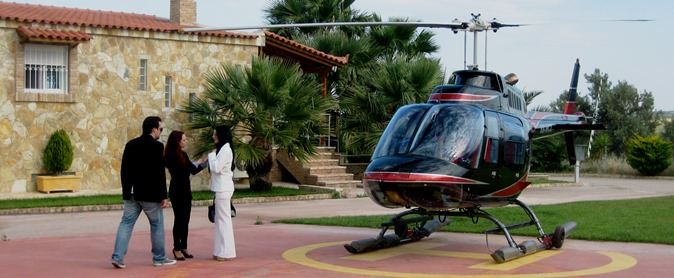helicopter for rental athens