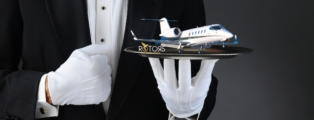 luxury aviation services jet