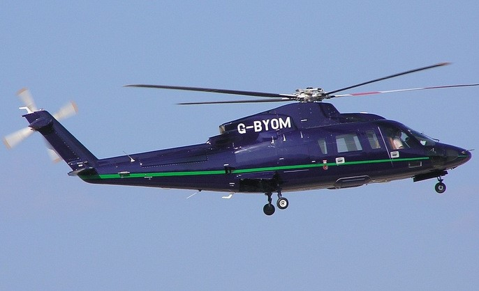 helicopter VIPsikorsky S76c EXT