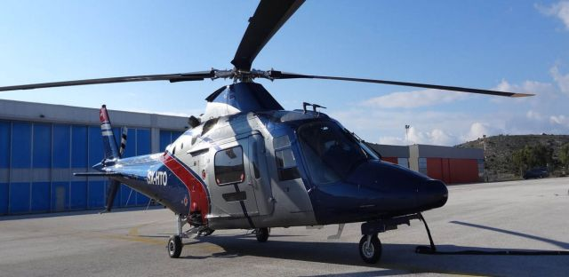 helicopter for rental a 109c ext