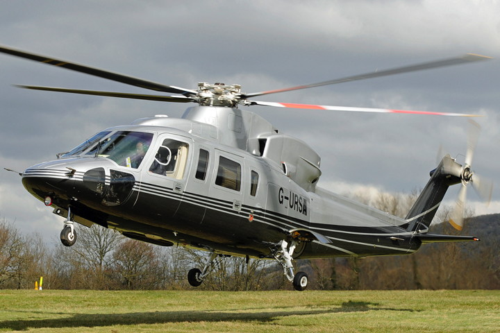 helicopter charter sikorsky s76c ext